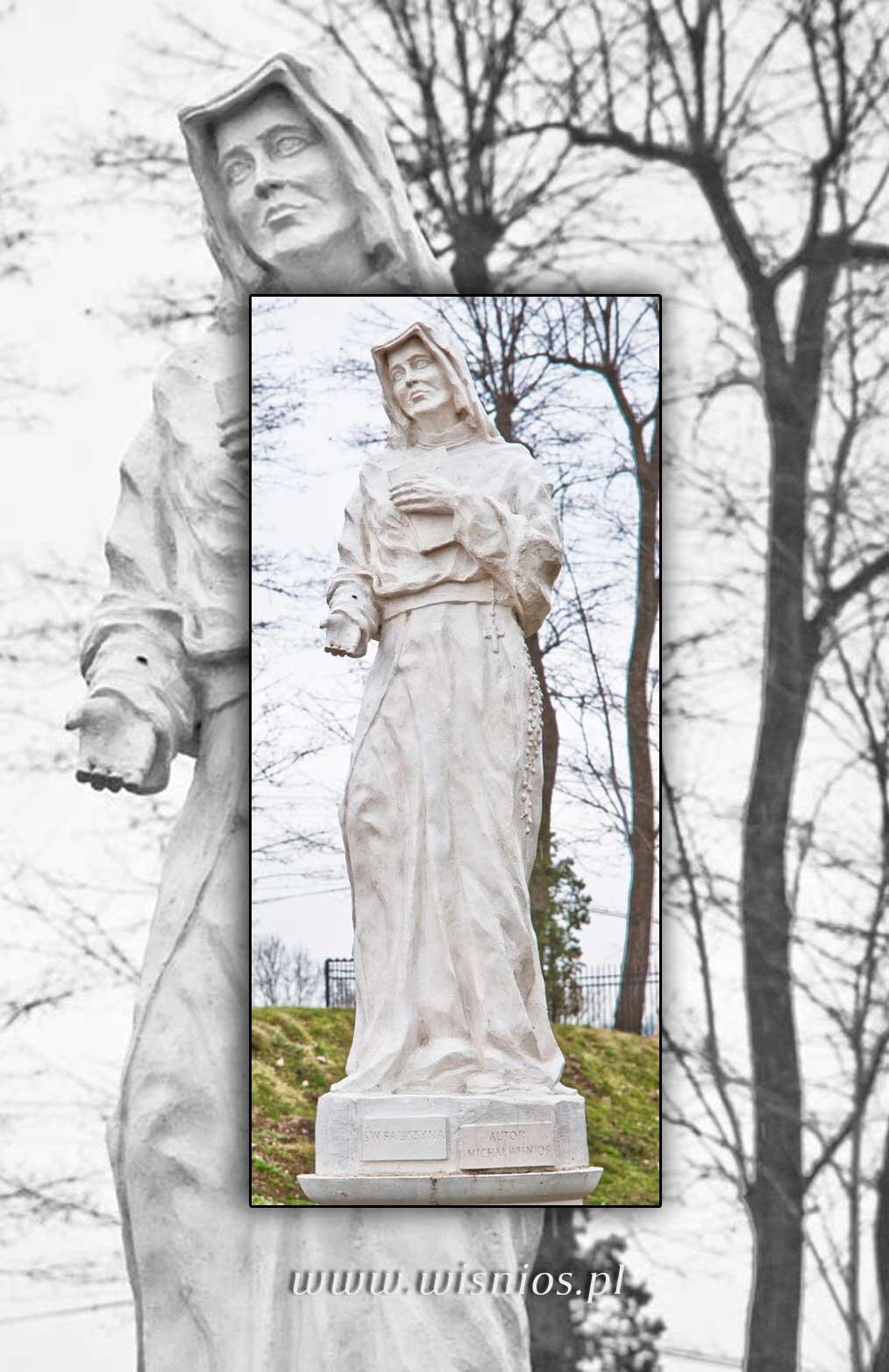 Św-Faustyna-rzeźba-wisnios