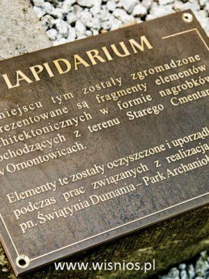 tablica-pamiatkowa-braz-memorial-plaque-odlew-wiśnios-ornontowice-park-Michała-archanioła-1