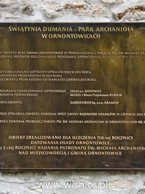 tablica-pamiatkowa-braz-memorial-plaque-odlew-wiśnios-ornontowice-park-Michała-archanioła-8
